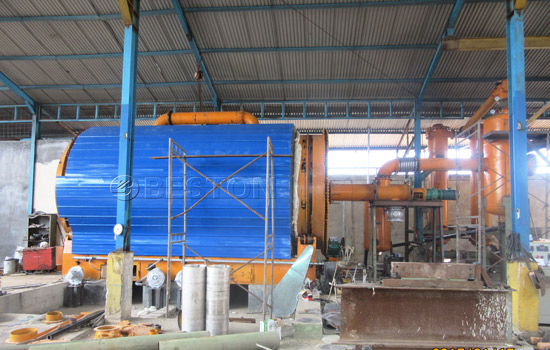 Beston Tyre Recycling Plant for Sale with Excellent Design
