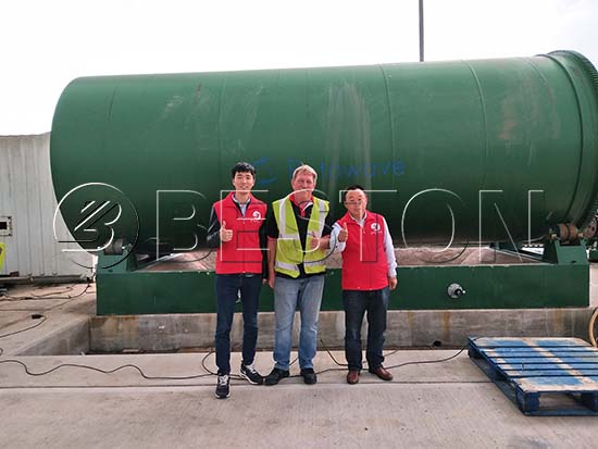 Waste Pyrolysis Plant in the UK